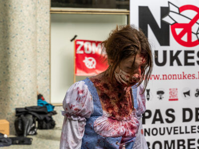 1st Atomic'Flash-Mob : Zombies4Peace 26-09 @ Brussel