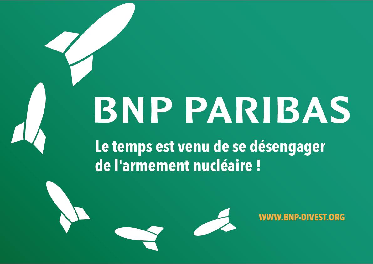 Nouveau rapport: Les banques actives en Belgique investissent plus de 17 milliards de dollars dans les 20 plus grandes sociétés d'armement nucléaire