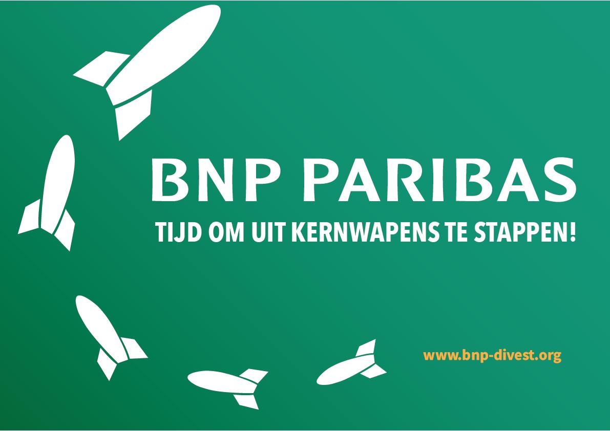 Nieuw rapport: Banken actief in België investeren voor meer dan 17 miljard dollar in de 20 grootste kernwapenbedrijven
