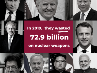 Wereldwijde uitgaven kernwapens toegenomen in 2019