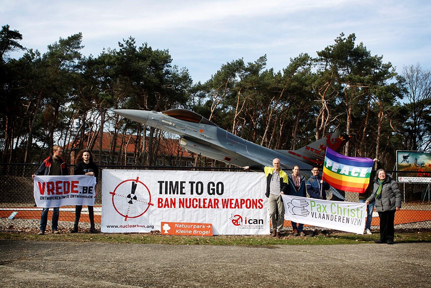 'Geen enkele politicus kan uitleggen waarom er nog kernwapens op Belgisch grondgebied liggen'