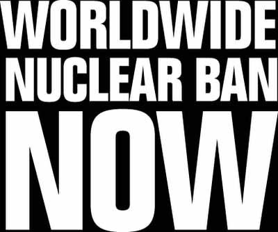 Appeal for a nuclear free world